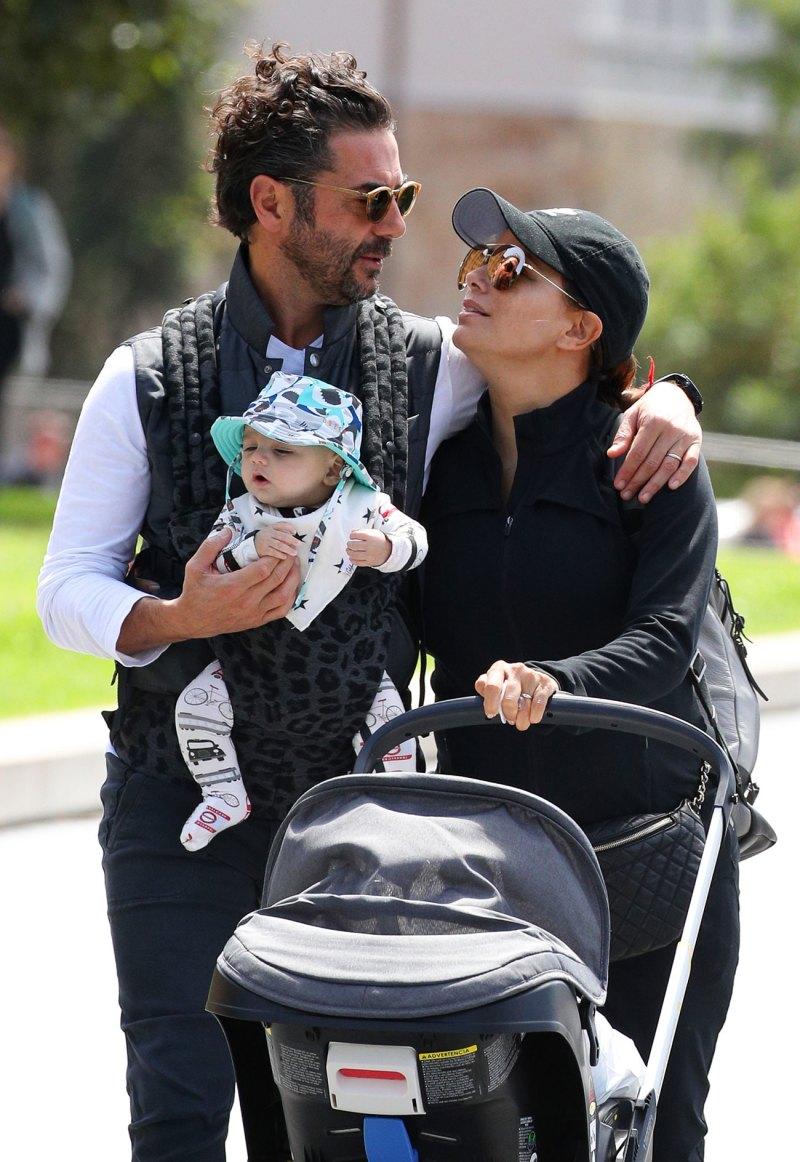 Photo of Eva Longoria celebra los primeros cuatros meses de su hijo