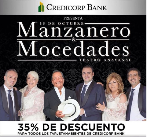 Photo of Descuento a 35% para el concierto de Armando Manzanero y Mocedades Sinfónico en Panamá