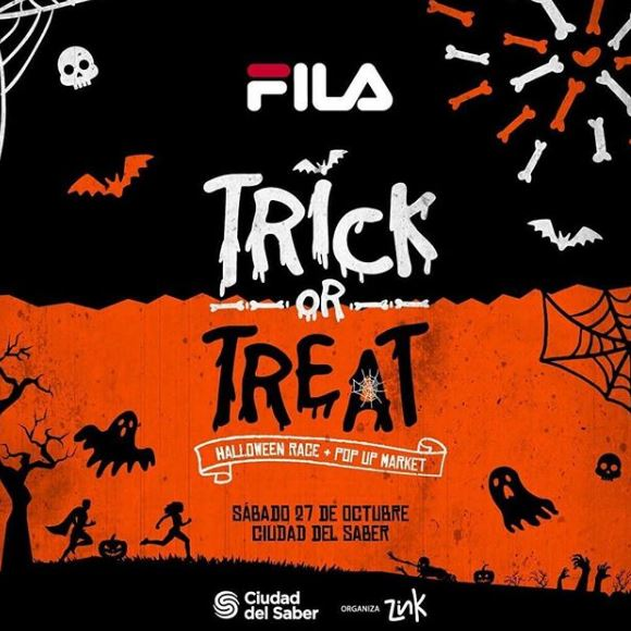 Photo of Panamá te trae el 'Trick Or Treat Race' by Fila
