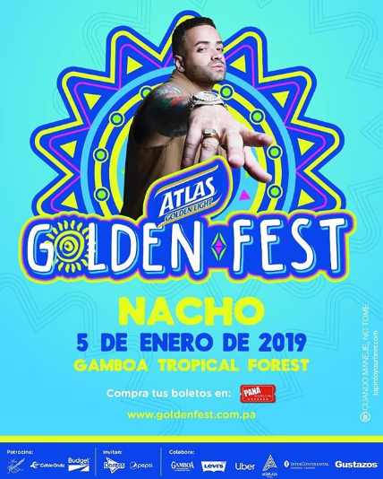 Photo of Nacho en el Atlas Golden Fest 2019