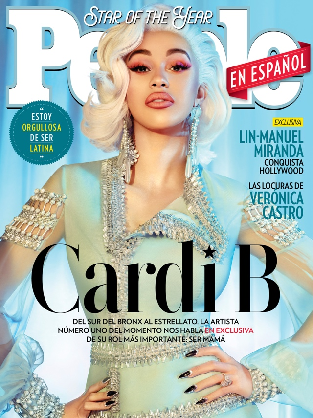 Photo of Cardi B es la Estrella del Año de People en Español