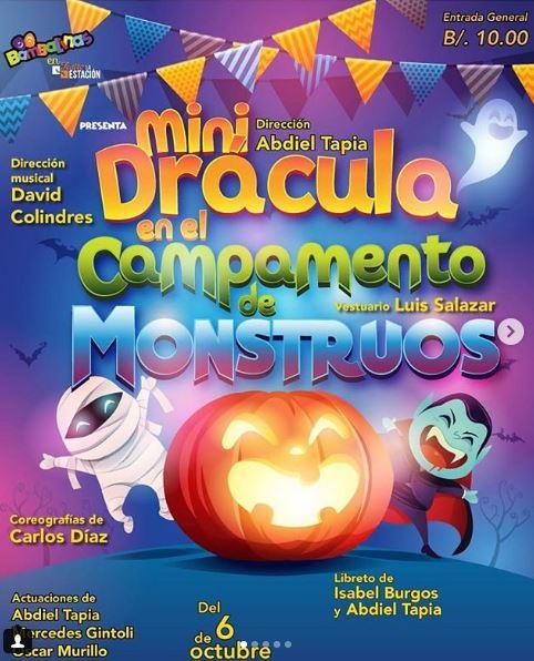 Photo of Obra 'Mini Drácula en el Campamento de Monstruos'