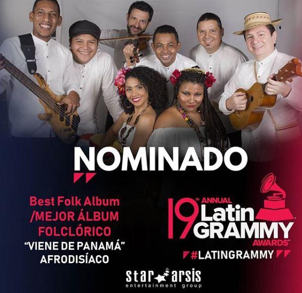 Photo of Afrodisíaco nominados a los Latin Grammy