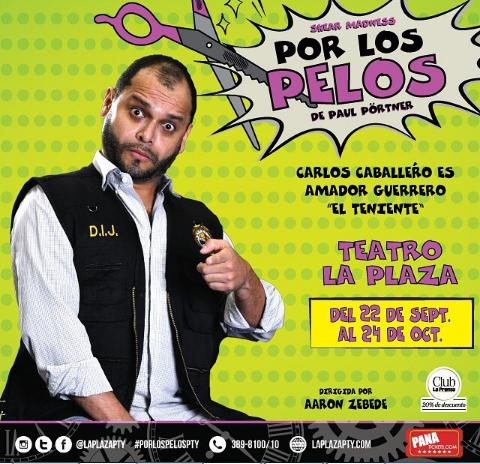 Photo of Obra 'Por Los Pelos' en Teatro la Plaza