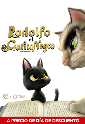 Photo of En cinemark 'Rodolfo el gatito negro'