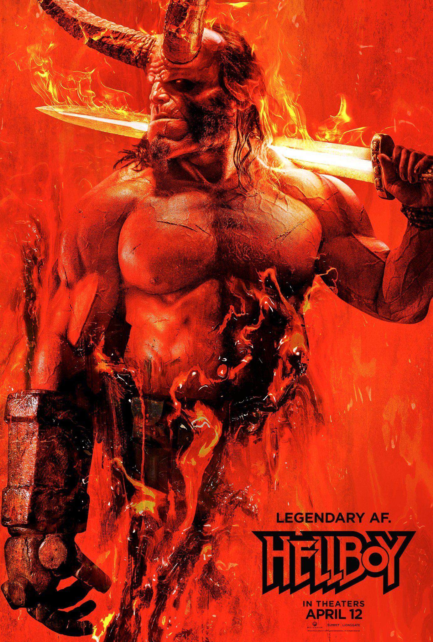 Photo of Lanzan poster oficial de «Hellboy»