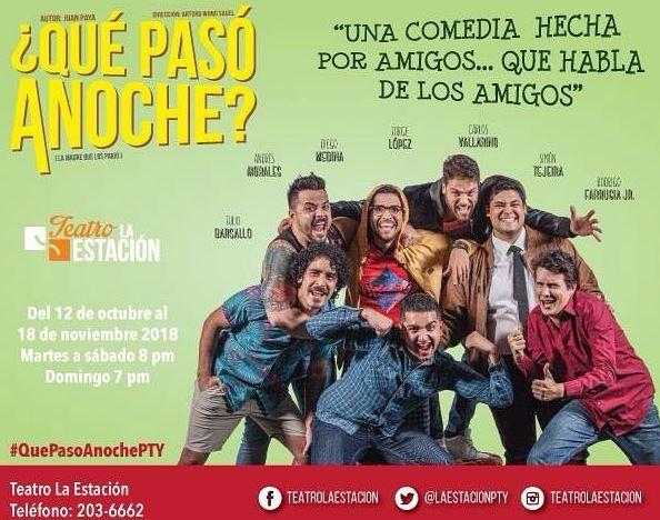 Photo of Obra ¿Que paso Anoche? en Teatro la Estación