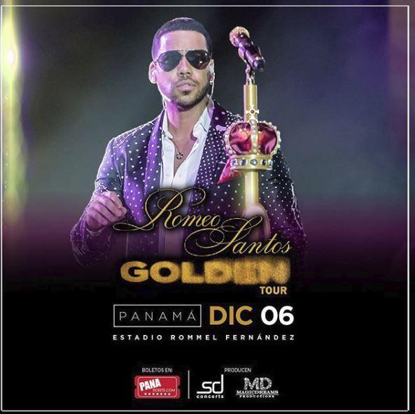 Photo of Comunicado oficial sobre el concierto de Romeo Santos en Panamá