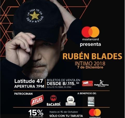 Photo of Concierto intimo de Rubén Blades en Panamá