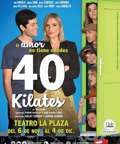 Photo of Estreno de la obra '40 Kilates' en Teatro la Plaza