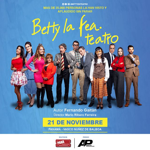 "Photo of ""Betty La Fea"" teatro llega a Panamá"