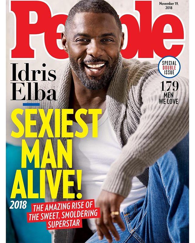 Photo of Idris Elba es nombrado como el Hombre Más Sexy del Mundo por la revista People