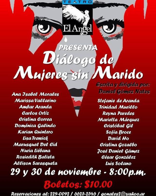 """Photo of Estreno de la obra '""""Diálogo de mujeres sin Marido"""""""
