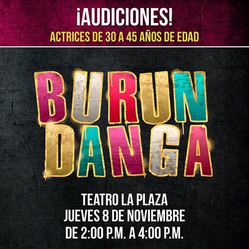 "Photo of Audiciones para la comedia ""Burundanga»"