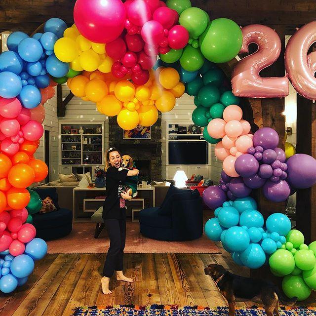Photo of Miley Cyrus celebro sus 26 años en familia