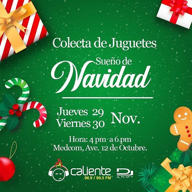 Photo of Comparte la navidad con Caliente 96.9 / 99.3