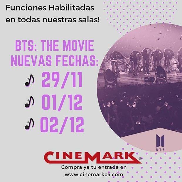 Photo of Nuevas funciones para 'BTS Movie'