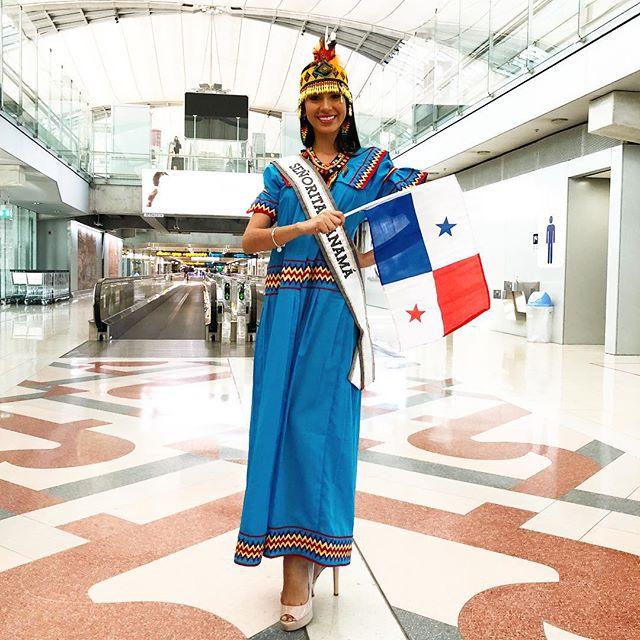 Photo of Nuestra Miss Panamá llega a llega a Tailandia