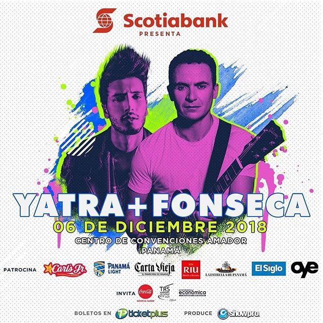 Photo of Faltan pocos días para el concierto de Sebastián Yatra y Fonseca