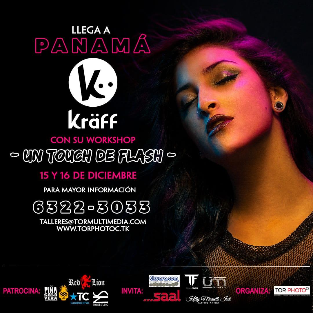 Photo of kraff Studio trae a Panamá su Taller de Fotografía