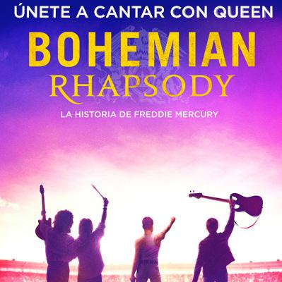 Photo of En Cinemark 'Bohemian Rhapsody – Sing along'