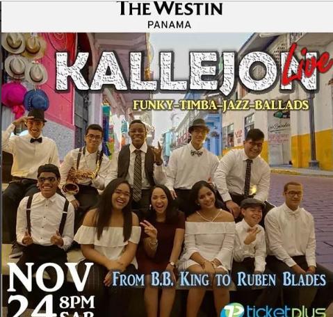 Photo of The Westin Panamá se presentara esta noche con 'Kallejon'
