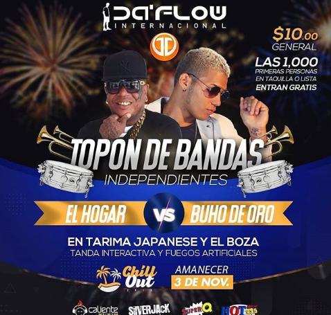 Photo of Esta noche «El Topón de las Bandas Independientes» en Panamá