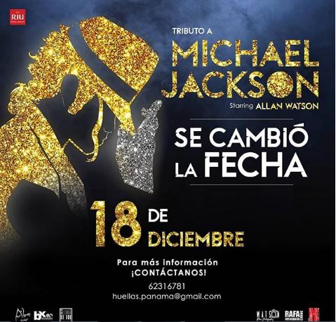 Photo of Cambio de fecha para el Tributo a Michael Jackson en Panamá