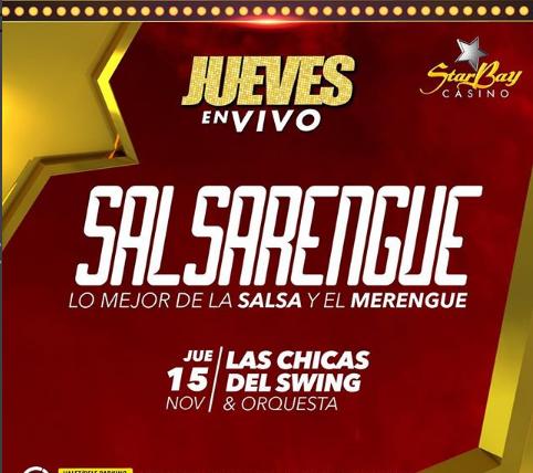 Photo of Jueves SalsaRengue en StarBay Casino