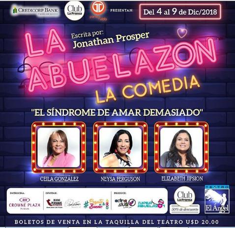 Photo of «La Abuelazon» la comedia en el Teatro el Ángel