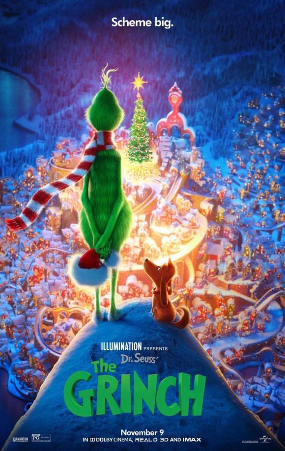 Photo of La película el «Grinch» ocupa el primer lugar en las taquillas