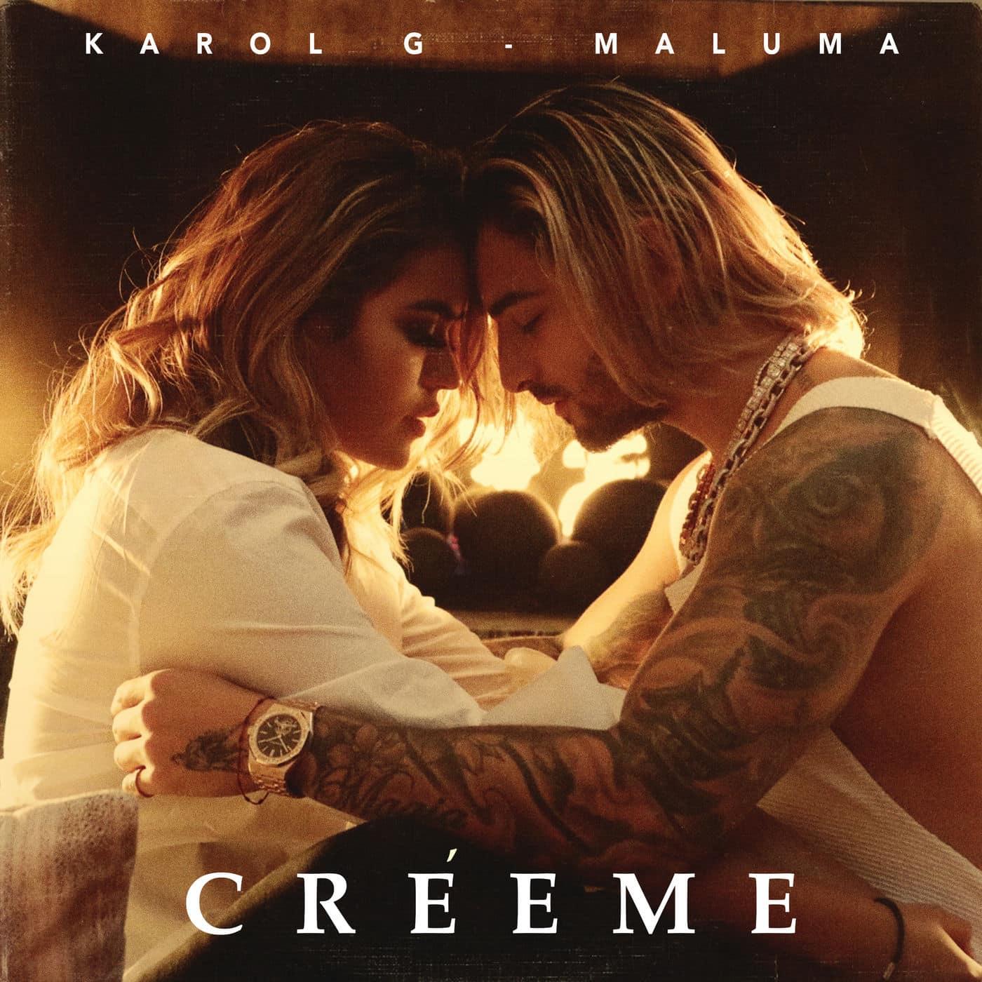 Photo of Karol G junto a Maluma estrena » Créeme»
