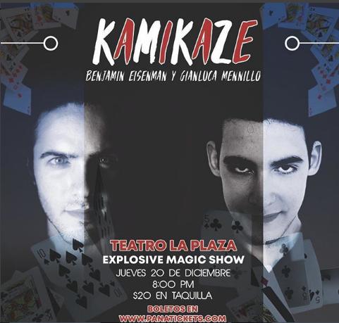 Photo of «Kamikaze» en Teatro La Plaza