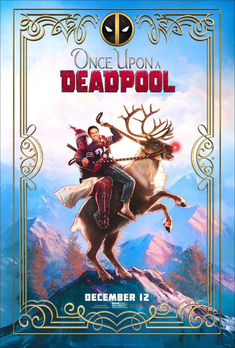 """Photo of 20th Century Fox estrena el trailer """"Once Upon a Deadpool"""""""