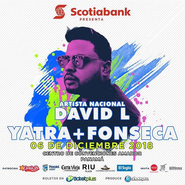 Photo of DavidL abrirá el concierto de Sebastián Yatra y Fonseca