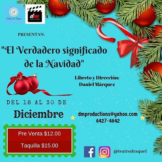 Photo of Teatro D' Raquel presenta 'El Verdadero significado de la navidad'