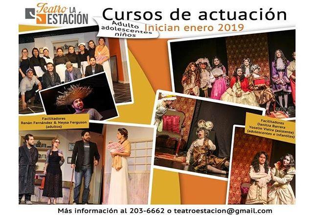 Photo of Curso de actuación en Teatro la Estación