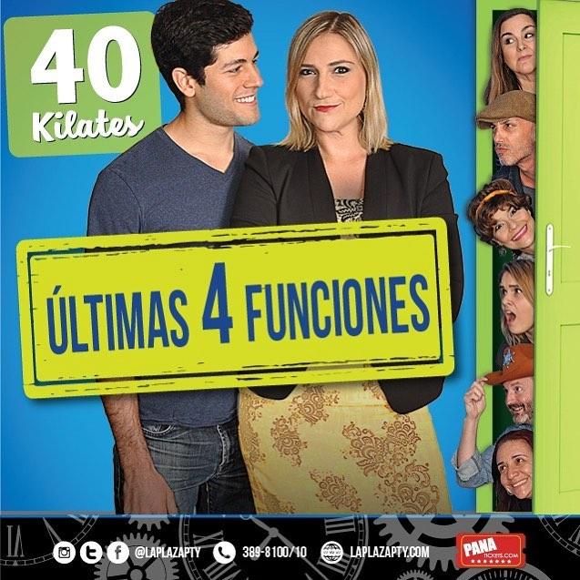 Photo of Últimas funciones de '40 Kilates'