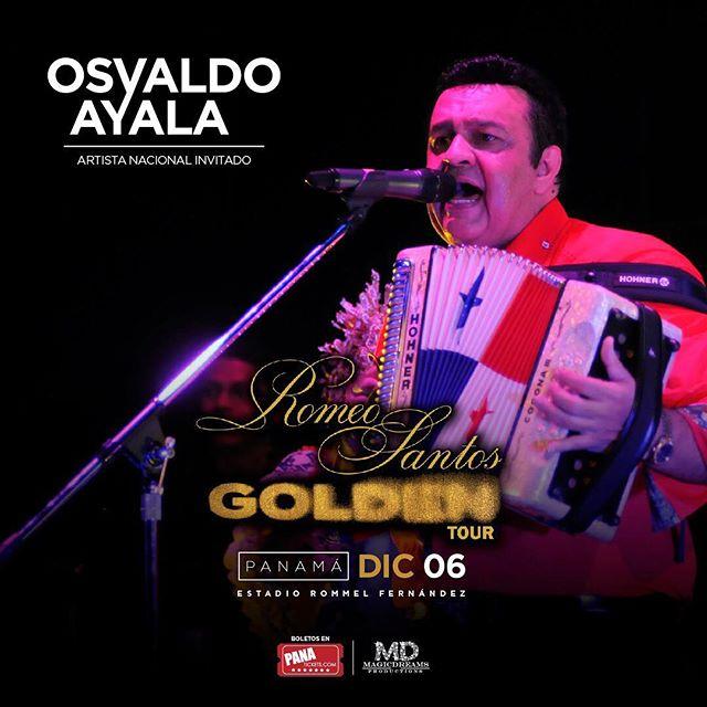 Photo of Osvaldo Ayala y Mr. Saik invitados especiales al concierto de Romeo