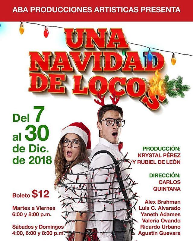 Photo of Teatro Aba presenta 'Una navidad de locos'