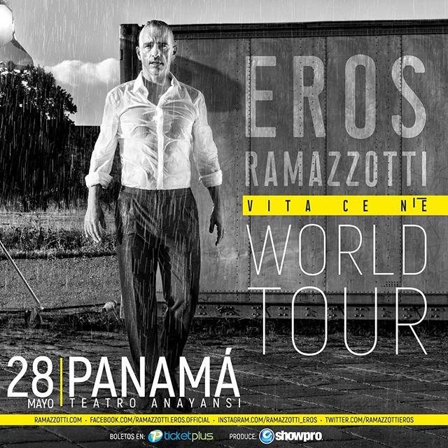 Photo of Confirmado concierto de Eros Ramazzotti en Panamá