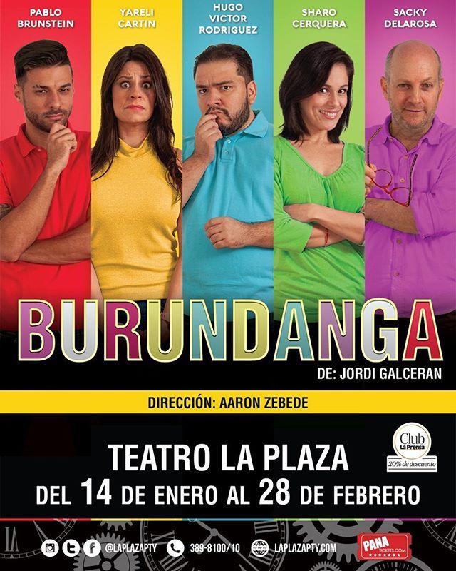 Photo of 'Burundanga' en Teatro la Plaza