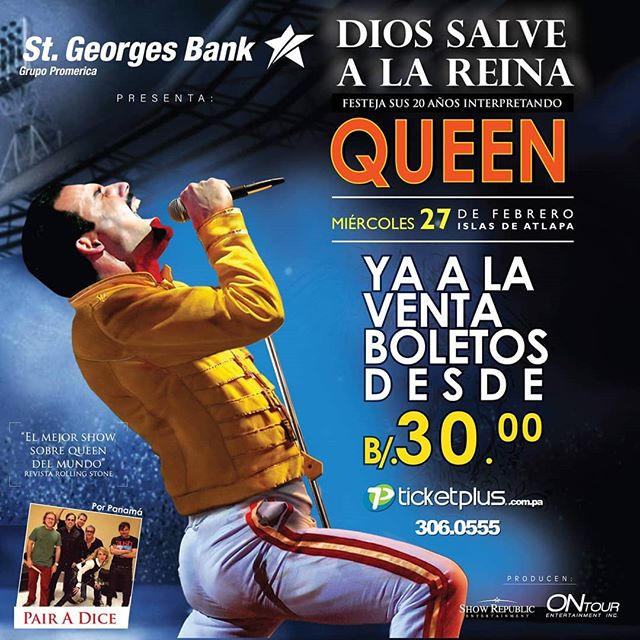 Photo of El mejor show sobre Queen del mundo llega a Panamá