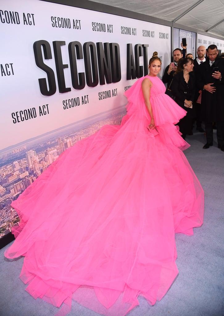 Photo of Jennifer Lopez deslumbro en el estreno de 'Second Act'