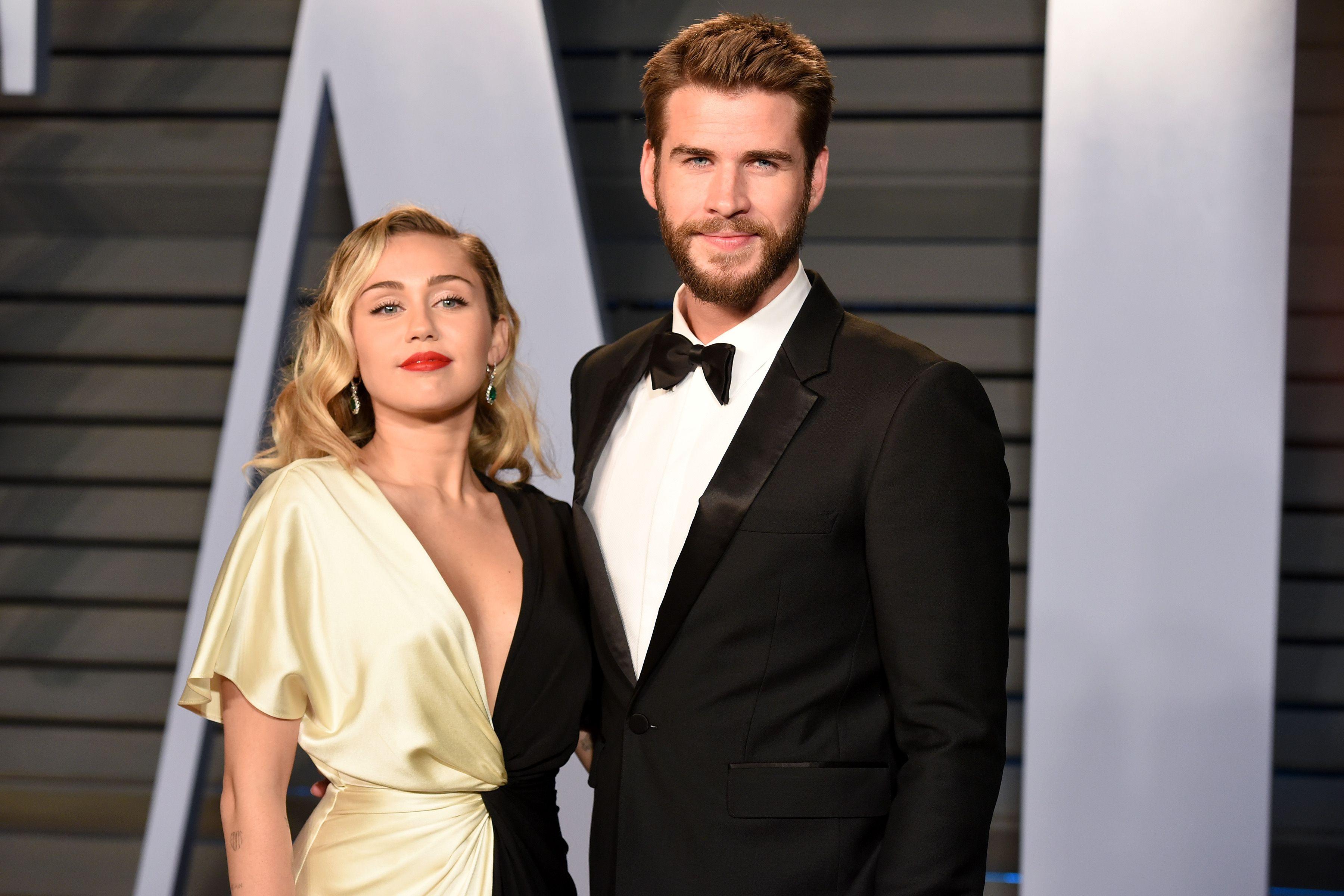 Photo of Parece que Miley Cyrus y Liam Hemsworth se casaron