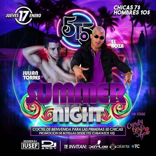 Photo of La Disco 5to5 presenta 'Summer Nigth'