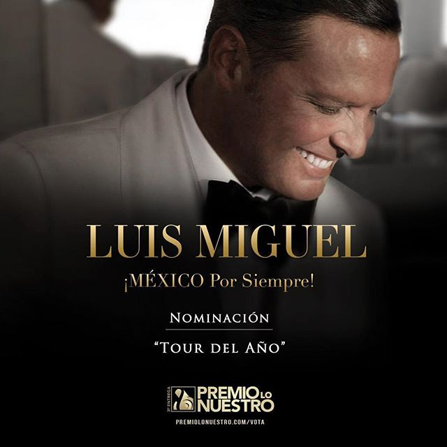 Photo of Luis Miguel nominado a Premio Lo Nuestro