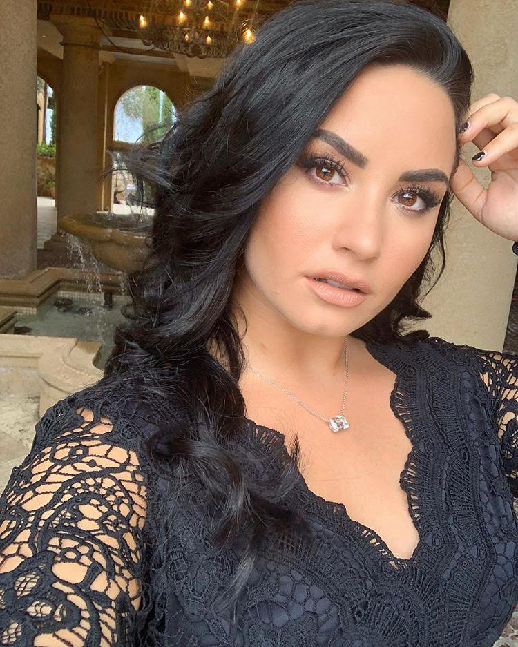Photo of Demi Lovato apareció más hermosa
