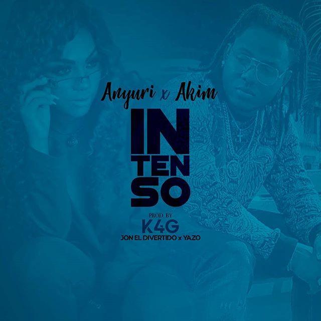 Photo of Anyuri junto Akim lanzan 'Intenso'