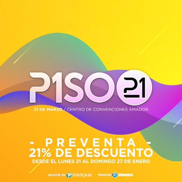 Photo of Pre Venta para concierto de Piso 21